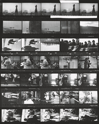 Contact sheet, The Americans,