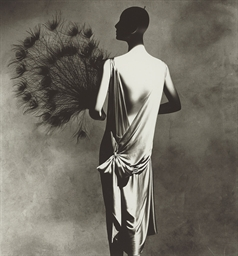 Vionnet Dress with Fan, 1977