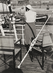 Woman on Deck, Finland, c. 193