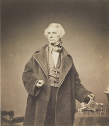 Samuel Morse with His Recorder