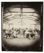 Recreation Room, Imperial Asylum at Vincennes, 1859