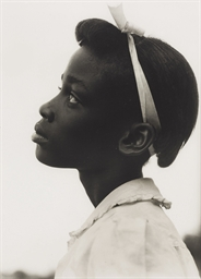 Untitled (Girl's profile), c.