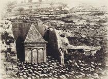 Jerusalem: Vallée de Josaphat, 1854
