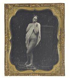 Draped nude, c. 1860