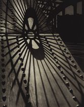 Steel Shadows, Abstraction, c. 1951; and Baltimore Train Yard, 1946