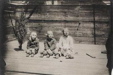 Untitled (Three children with