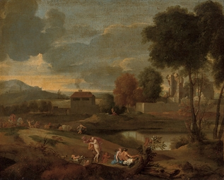 A classical landscape with nym