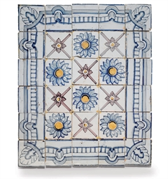 A GROUP OF PORTUGUESE TILES