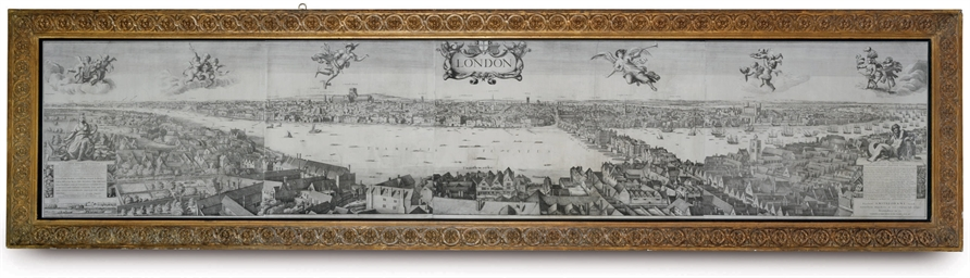 PANORAMIC VIEW OF LONDON, 1647