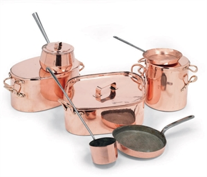 AN ENGLISH ASSEMBLED COPPER BA
