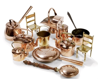 A COLLECTION OF ENGLISH COPPER