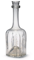AN ENGLISH MALLET DECANTER