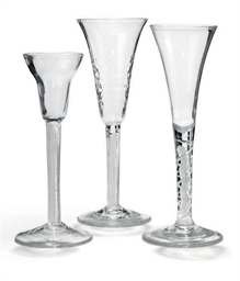 THREE AIRTWIST DRINKING GLASSE