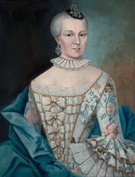 Portrait of Goedel Agnese von