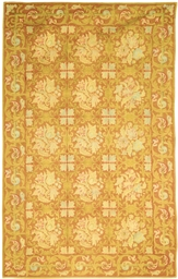 A FRENCH NEEDLEWORK RUG