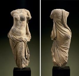 A GREEK MARBLE APHRODITE PONTI
