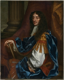Portrait of Charles II, seated