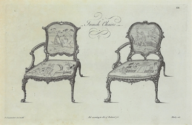[French Chairs]: Two Plates