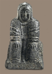 An Inuit Soapstone Figure