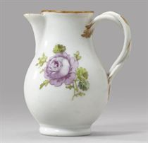 A porcelain cream-jug