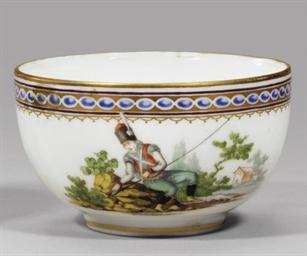 A porcelain cup