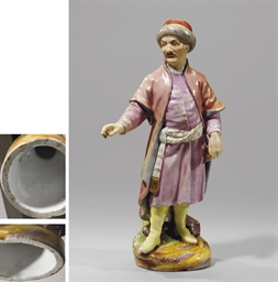 A porcelain figure of a Kazan