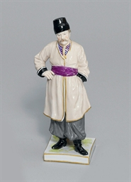 A PORCELAIN MODEL OF A GEORGIA