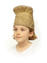 Embroidered kokoshnik