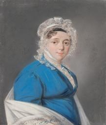 Portrait of Anna Matveevna Mur