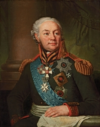 Portrait of Count Fedor Fedoro