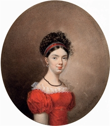 Portrait of Countess Maria Iva