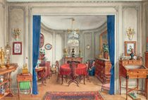 View of the dining-room in Alexandre Popoff's apartment