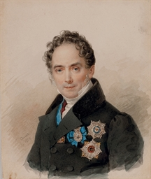 Portrait of Prince Victor Pavl