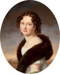 Portrait of Countess Hélène La