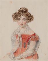 Portrait of Countess Sophia Alexandrovna Bobrinsky (1799-1866)