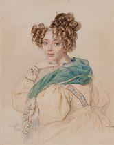 Portrait of Countess Olga Alexandrovna Orlova (1807-1880)