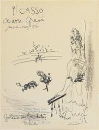 Femme au Balcon, Affiche 'Oeuv