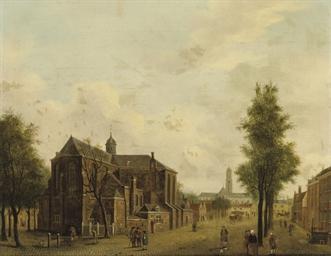 Utrecht with the Pieterskerk a