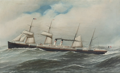 The Red Star Line vessel, SS W