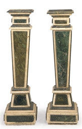 A PAIR OF FRENCH VERDE ANTICO