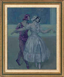 Vaslav Nijinsky and Tamara Kar