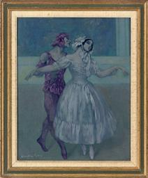 Vaslav Nijinsky and Tamara Kar