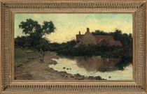 A stroll by the pond