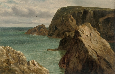 A calm day off the coast