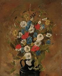 Poppies, cornflowers, daisies,
