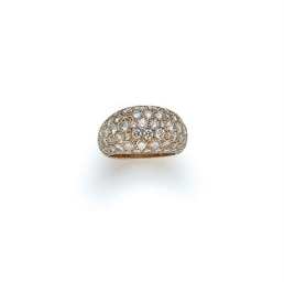 BAGUE DIAMANTS, PAR POIRAY