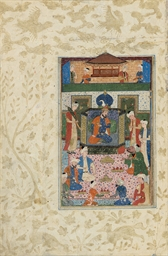 A SAFAVID COURT SCENE POSSIBLY