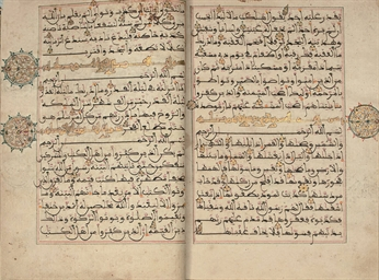 A MAGHRIBI QUR'AN WITH OPENING