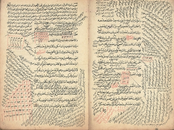 AN OTTOMAN MANUSCRIPT WITH COL