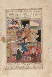 A TIMURID MINIATURE, IRAN, 15T